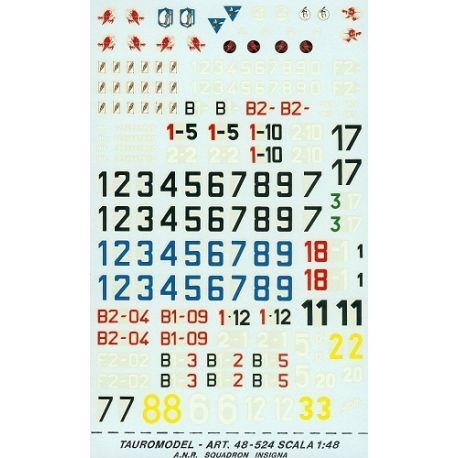 TAURO MODEL 48524 A. N. R. INSIGNA