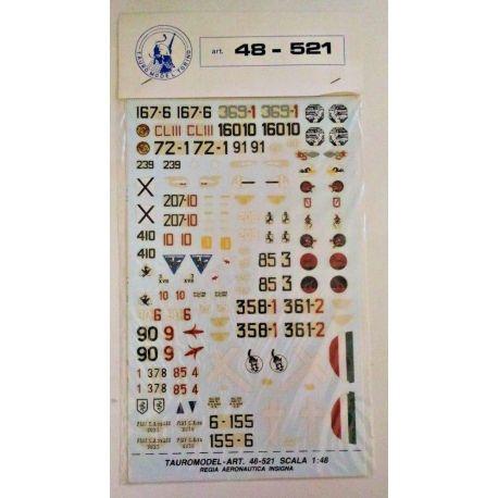 TAURO MODEL 48521 48-521 Regia Aeronautica Insigna