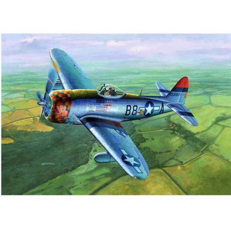 """TRUMPETER 02264 P-47D-30 Thunderbolt """"Dorsal Fin"""" 1/32"""
