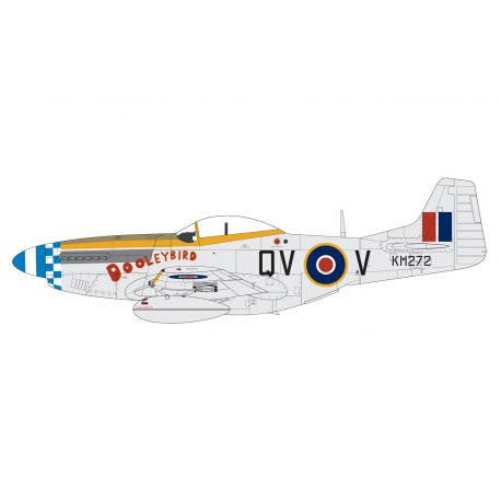 AIRFIX A05137 North American Mustang Mk.IV™ 1/48