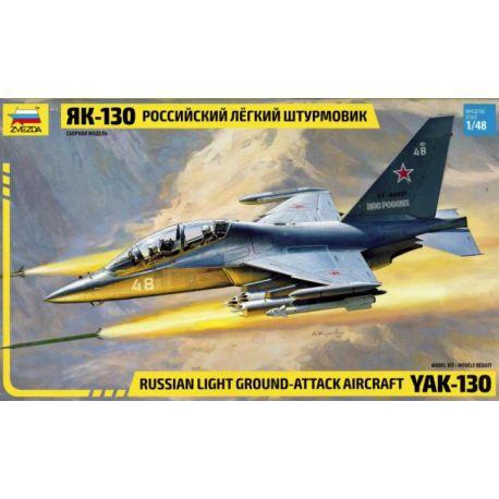 Zvezda 4821 YAK-130 Russian Light Ground-Attack Aircraft 1/48