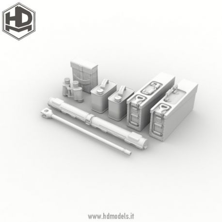 HD Models MG42 tools 1/35