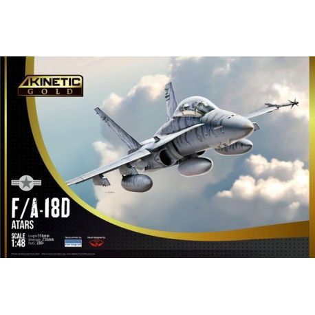 KINETIC 48033 F/A-18D Hormet ATARS 1/48