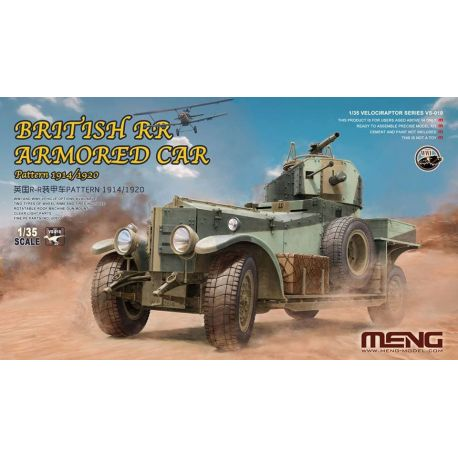 MENG MODEL VS-010 British Rolls-Royce armoured car Pattern 1914/1920 1/35