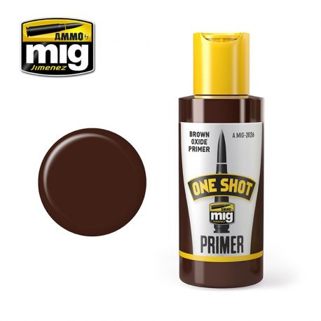 AMMO OF MIG ONE SHOT PRIMER - BROWN OXIDE PRIMER