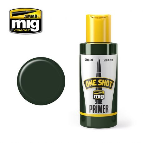 AMMO OF MIG ONE SHOT PRIMER - GREEN
