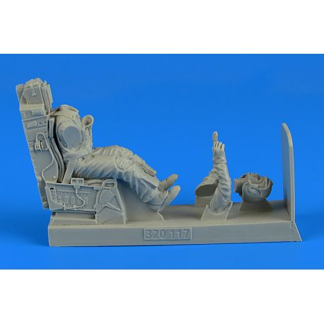 Aerobonus 320117 USAF Fighter Pilot with ejection seat TAMIYA/REVELL