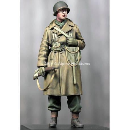 Alpine Miniatures 35259 WW2 US Infantry Winter