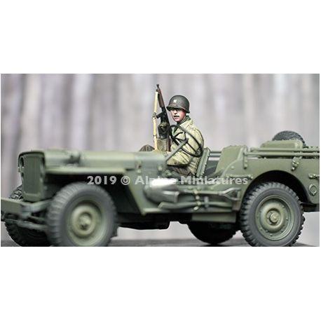Alpine Miniatures 35260 WW2 US Jeep Passenger