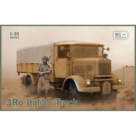 IBG MODELS 35052 Camion italiano 3Ro versione cargo 1/35