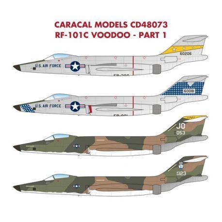 CARACAL 48073 USAF McDonnell RF-101C Voodoo