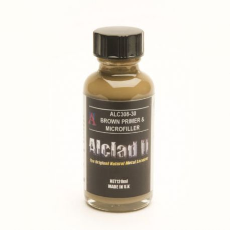 Alclad ALC308 Brown primer and microfiller- 60ml