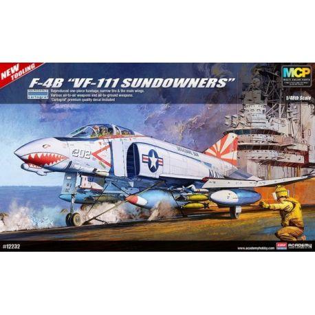 "ACADEMY 12232 F-4B ""VF-111 Sundowners"" 1/48"