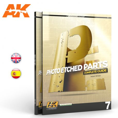 AK INTERACTIVE -PHOTOETCHED PARTS. LEARNING SERIES 07