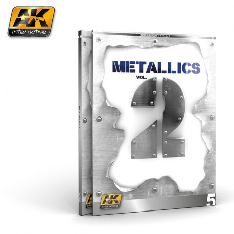 AK INTERACTIVE -METALLICS VOL. 2 –FIGURES- LEARNING SERIES 5