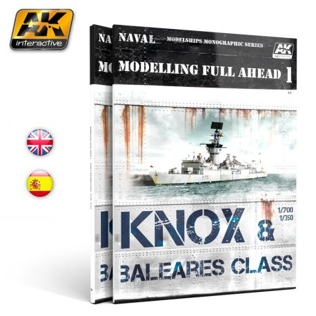AK INTERACTIVE- MODELLING FULL AHEAD 1 / KNOX & BALEARES CLASS