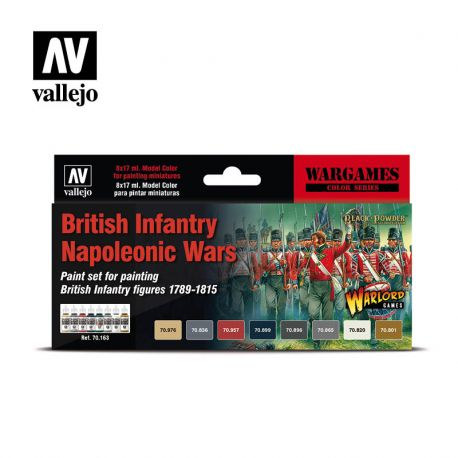 Vallejo MODEL Color 70163 British Infantry Napoleonic Wars