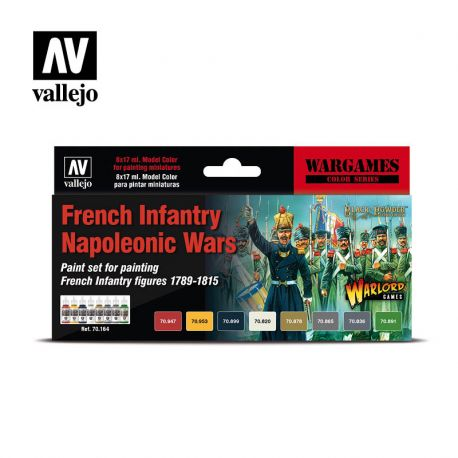 Vallejo MODEL Color 70164 French Infantry Napoleonic Wars