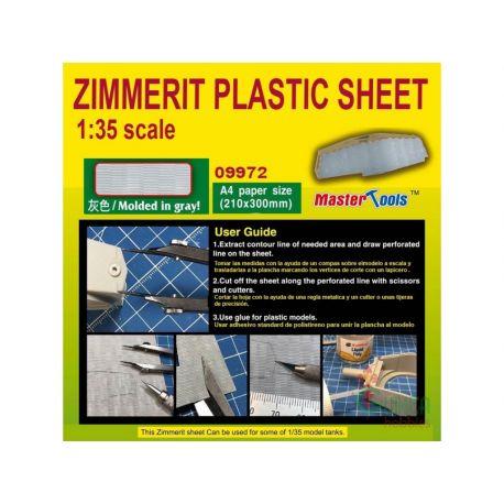 MASTER TOOLS 09972 ZIMMERIT PLASTIC SHEET