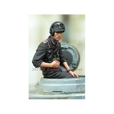 Alpine Miniature 35264 German Panzer Commander Summer 2