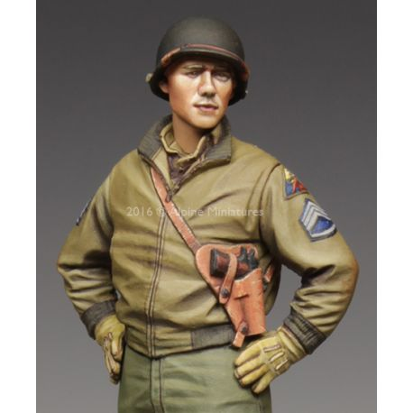 Alpine Miniatures 35218 Alpine Miniatures 35218 US 3rd Armored Division Staff Sergeant