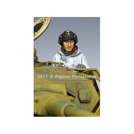 Alpine Miniatures 35239 WSS Panzer Gunner Winter