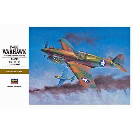 Hasegawa ST29 P-40E WARHAWK