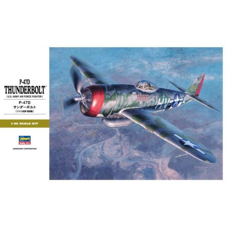 Hasegawa ST27 P-47D THUNDERBOLT