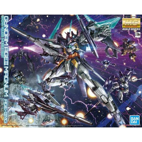 BANDAI 64390 MG BUILD DIVERS GUNDAM AGE II MAGNUM 5057065