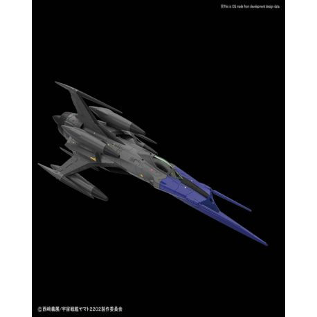 BANDAI Type 0 Model 52 bis Autonomous Space Fighter Black Bird 1/72