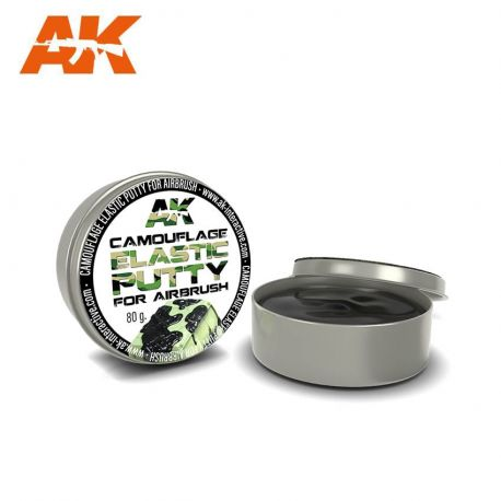 AK INTERACTIVE CAMOUFLAGE ELASTIC PUTTY