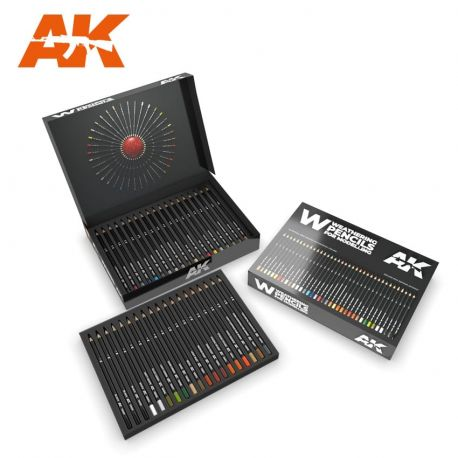 AK INTERACTIVE -WEATHERING PENCILS DELUXE EDITION BOX