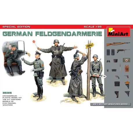 MINIART 35315 GERMAN FELDGENDARMERIE. SPECIAL EDITION