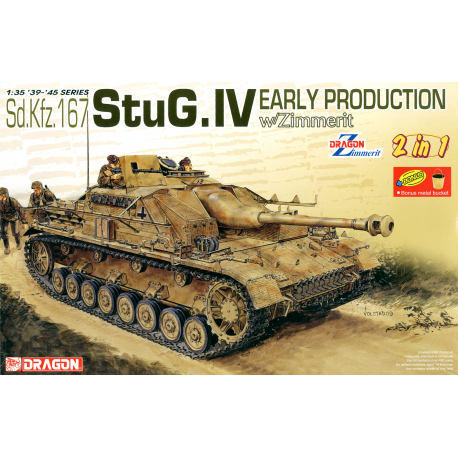 DRAGON 6615 STUG.IV EARLY PRODUCTION (2 IN 1)