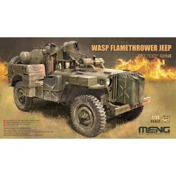 MENG MODEL VS012 WASP Flamethrower Jeep 1/35