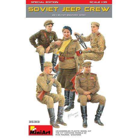 MINIART 35313 SOVIET JEEP CREW. SPECIAL EDITION