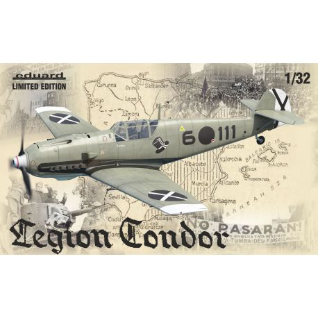 EDUARD 11105 Legion Condor Bf 109E Limited Edition 1/48