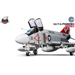 ZOUKEI-MURA SWS48-09 F-4J Phantom II Navy 1/48