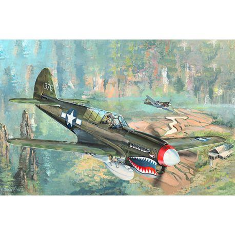 TRUMPETER 02212 P-40N War Hawk 1/32