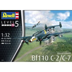 REVELL 04961 Messerschmitt Bf110 C-2/C-7 1/32