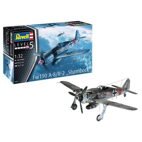 "REVELL 03874 Fw190 A-8/R-2 ""Sturmbock"" 1/32"
