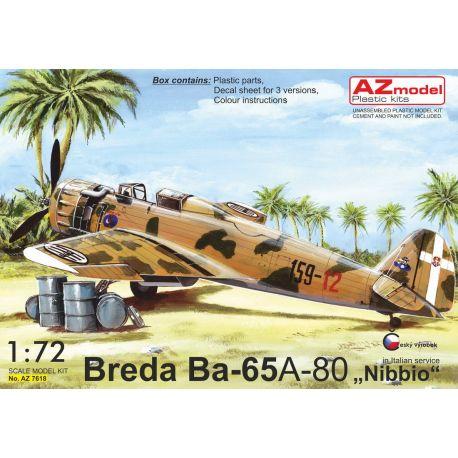 "AZ-Model 7618 Breda Ba.65A-80 ""In Italian service"" 1/72"