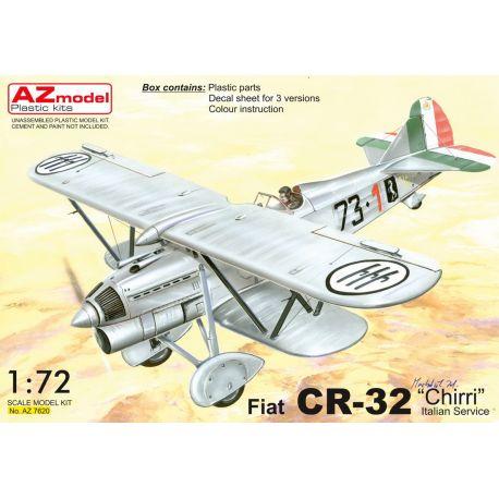 """AZ-Model 7620 Fiat CR-32 Chirri """"Italian service"""" 1/72"""