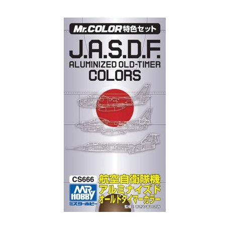 Mr. Color CS666 J.A.S.D.F. ALUMINIZED OLD-TIMER