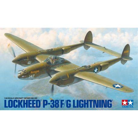 TAMIYA 61120 Lockheed P-38 F/G Lightning 1/48
