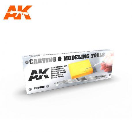 AK Interactive 9100- Set tracciatori DELUXE BOX