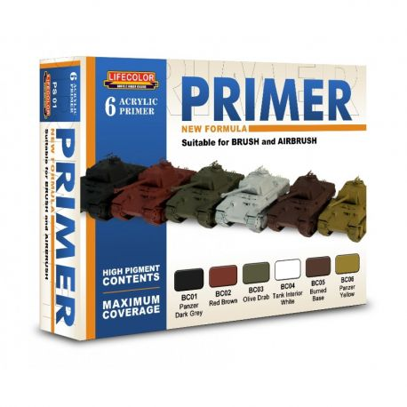 Life Color PS01 set 6 Primer