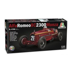 ITALERI 4706 ALFA ROMEO 8C 2300 MONZA 1:12 SCALE