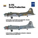 HONG KONG MODEL 48001 B-17G Flying Fortress - early production 1/48