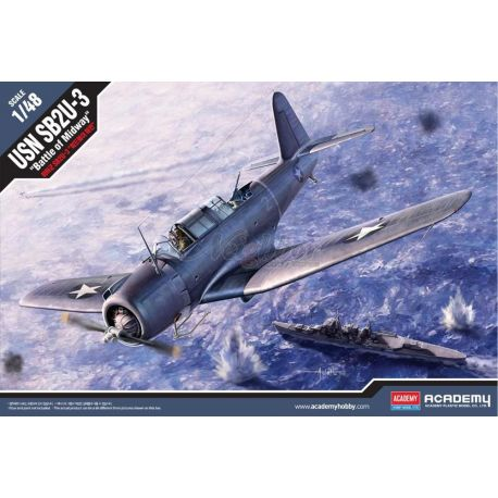 "Academy 12324 USN SB2U-3 Vindicator ""Battle of Midway"" 1/48"